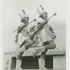 Special Days - American Legion Day - Majorettes with batons