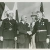 Special Days - American Legion Day - Herbert Lehman (Governor of New York) greeting officials
