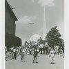 Special Days - Children's Day - Frank Buck's Elephants, Trylon, Perisphere, and blimp