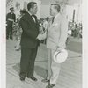 Special Days - District of Columbia Day - Grover Whalen and official shaking hands