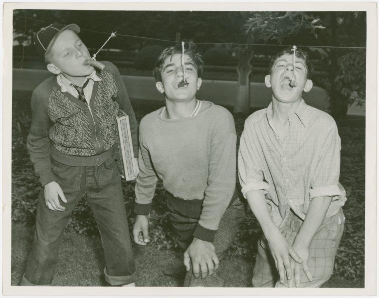 Special Days - Hot Dog Day - Members of Flatbush Boys Club ...