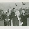 Special Days - Mothers' Day - Typical American Mother with Grover Whalen holding baby, and Mrs. Sidney Borg