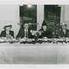 Special Days - Royal Neighbors of America Day - Women with man having tea