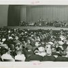 Special Days - Rural Women's Day - View of audience as Eleanor Roosevelt gives speech