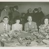 Special Weeks - Bronx Week - James Lyons with others at table