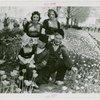 Special Weeks - Tulip Week - Group in costumes in tulip bed
