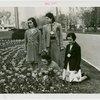 Special Weeks - Tulip Week - Girls looking at tulips