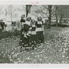Special Weeks - Tulip Week - Women and child in costumes in tulip bed