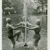 Sports - Women in water fountain