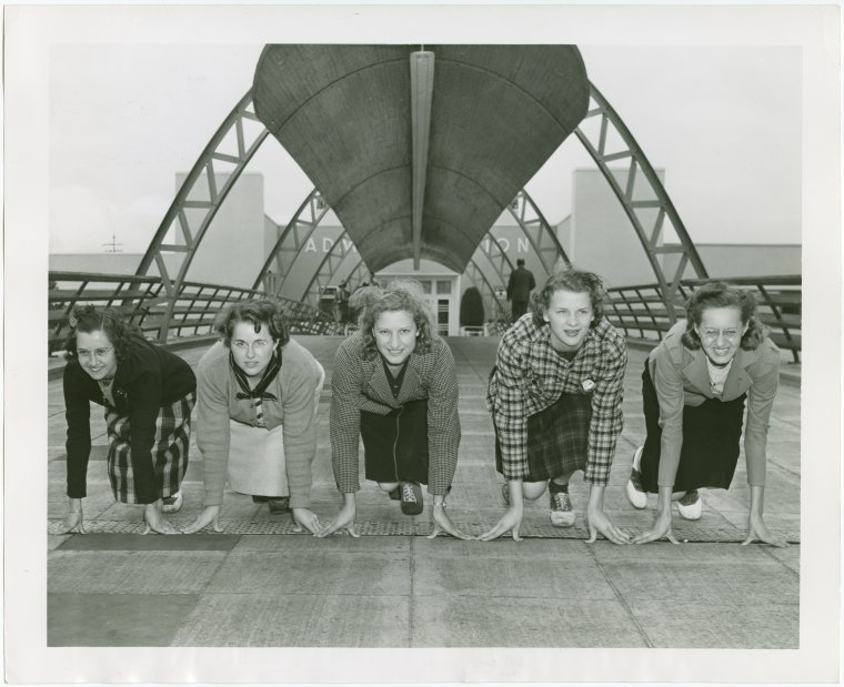 Sports - Women's track team