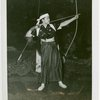 Sports - Archery - Woman aiming bow