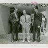 Sports - Baseball - Myril Hoag, Fred Haney and George McQuinn