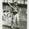 Sports - Baseball - Baseball player with bat