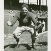 Sports - Baseball - Baseball player with mitt