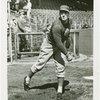 Sports - Baseball - Baseball player throwing ball