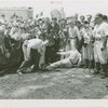 Sports - Baseball - Pie Traynor and Paul Waner showing boys how to slide