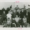 Sports - Boxing - Gene Tunney and Arthur Donovan with boys and other men in ring