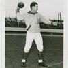 Sports - Football - Clarence Parker throwing football
