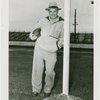 Sports - Football - Potsy Clark standing with football