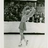 Sports - Ice Skating - Erna Anderson posing on ice skates
