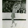 Sports - Ice Skating - Erna Anderson posing on ice skates