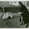 Sports - Ice Skating - Sandy Rice feeding ducks