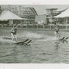Sports - Waterskiing - Two men on water-skis