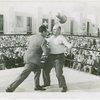 Sports - Whalen, Grover - Throwing punch at Cannonball Richards