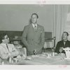 Standard Brands - Grover Whalen with others at luncheon