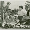 Temple of Religion - Jewish refugee children with books