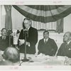 Temple of Religion - Events - John D. Rockefeller, Jr. giving speech at luncheon