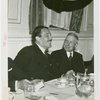 Temple of Religion - Events - Grover Whalen and John D. Rockefeller, Jr. at luncheon