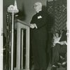Temple of Religion - Events - Rev. Samuel Trexler giving speech at dedication