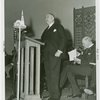 Temple of Religion - Events - Rabbi Louis Wolsey giving speech at dedication