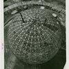 Theme Center - Trylon and Perisphere - Construction - Perisphere frame