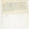 Theme Center - Trylon and Perisphere - Replica of Trylon and Perisphere given to Franklin Delano Roosevelt