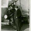 Trucks - Two men examining truck
