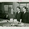 Turkey Participation - Edward Roosevelt showing officials Fair model