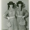 Twins - Female twins posing in hats