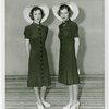 Twins - Female twins posing in hats