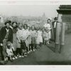 Twins - Fifield Family - With nurse on roof