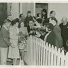 Typical American Family - Burdin family with Grover Whalen, Fiorello LaGuardia and others