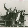 Typical American Family - Burdin family waving from yacht