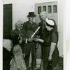 Typical American Family - Converse family receiving key and lease from Harvey Gibson
