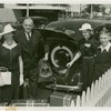 Typical American Family - Mullen family in front of car