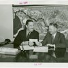 Underwood Elliott Fisher Co. - L.C. Stowell (Vice President) and Grover Whalen signing contract