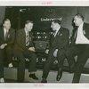 Underwood Elliott Fisher Co. - Employees posing with giant typewriter