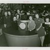 Underwood Elliott Fisher Co. - Female attendants posing with five millionth typewriter