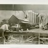 U.S. Steel - Model makers work on diorama