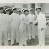 United States - Navy - Officers shaking hands